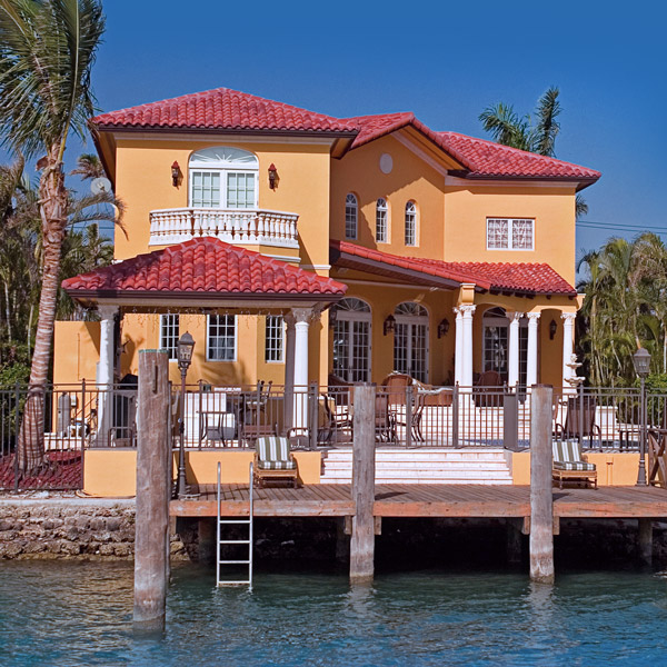 florida home waterfront